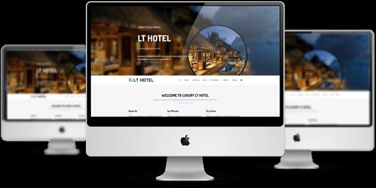 κατασκευή ιστοσελίδων για ξενοδοχεία