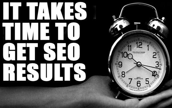Πόσος χρόνος απαιτείται για το SEO, προώθηση ιστοσελίδων, για την πρώτη σελίδα