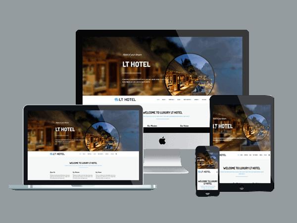 κατασκευή ιστοσελίδας για ξενοδοχείο με εξαιρετικό responsive σχεδιασμό Αθήνα