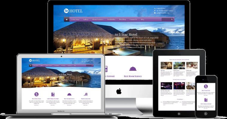 Κατασκευή ιστοσελίδων για ξενοδοχεία σε προσιτές τιμές