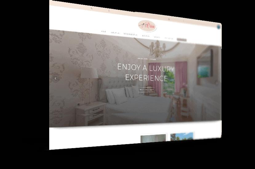 Κατασκευή ιστοσελίδας για ξενοδοχείο στη Λευκάδα