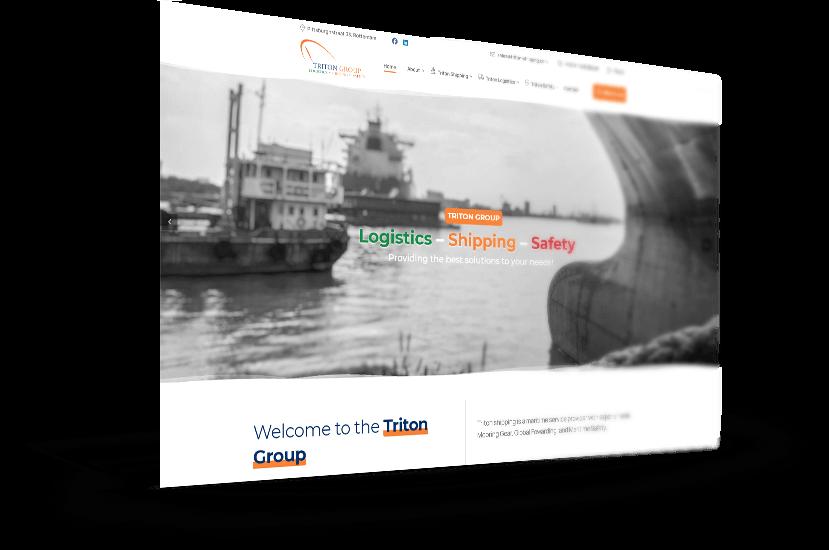 Κατασκευή ιστοσελίδας για ναυτιλιακή εταιρεία στο Roterdam